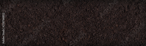 Photo Soil texture background