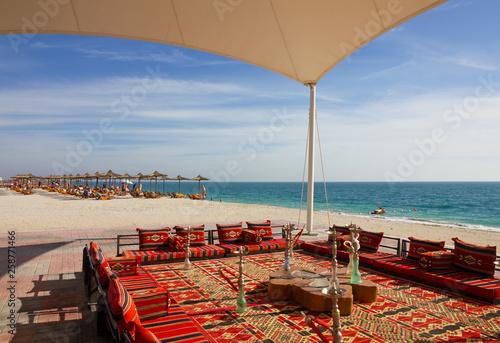 UAE: Beach on Sir Bani Yas island Tapéta, Fotótapéta