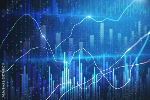 Fototapeta Trade and invest wallpaper obraz