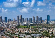 Aerial View Of Park Yarkon, Pr...