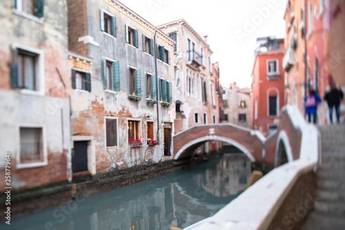 Fotografía  Rues, ruelles et canaux de Venise en Italie