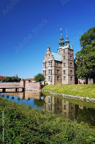 Rosenborg Castle in Copenhagen Canvas Print