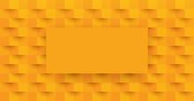 Orange Abstract Background Vec...