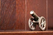 Miniature Of Antique Cannon