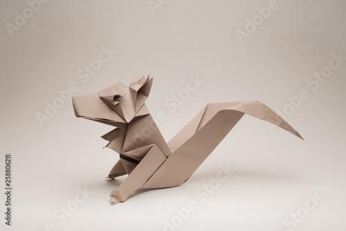 Origami Squirrel tutorial (Hideo Komatsu) - YouTube | 334x500