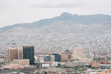 View Of The Downtown El Paso S...