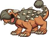 Fototapeta Dinusie - Ankylosaurus dinosaur