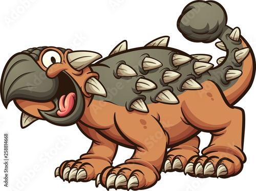 Dinozaur ankylozaura