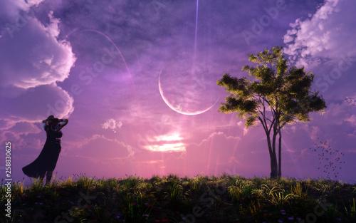 Obrazy w różnych kolorach  epic-majestic-fantasy-landscape-concept-artwork