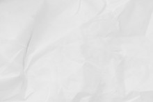 Crumpled White Paper Texture With Dotted Pattern, Crumpled Paper Texture Background