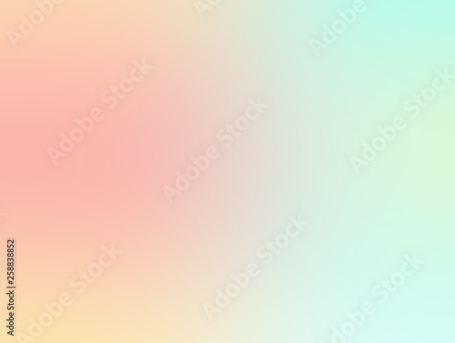Photographie  very soft and sweet pastel color abstract background