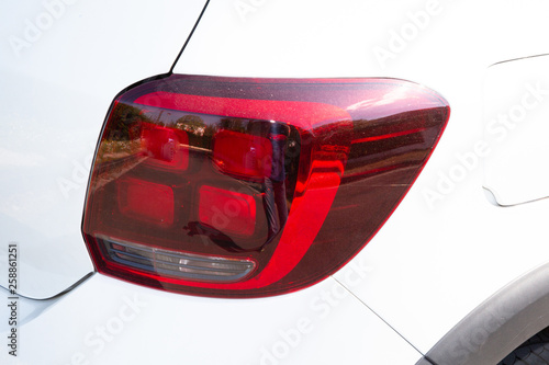 Carta da parati rear lights of the Tail light car