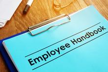 Employee Handbook And Clipboar...