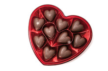 Heart Shaped Box Of Chocolate Candy