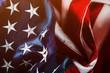 Leinwandbild Motiv USA flag independence day concept