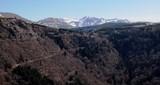 Fototapeta Do pokoju - paysage du somment de la roche Sanadoire, Auvergne