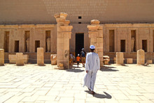 Temple Of Queen Hatshepsut In Luxor Near The Valley Of The Kings.
