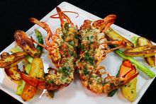 Canadian Lobster Thermidor Wit...