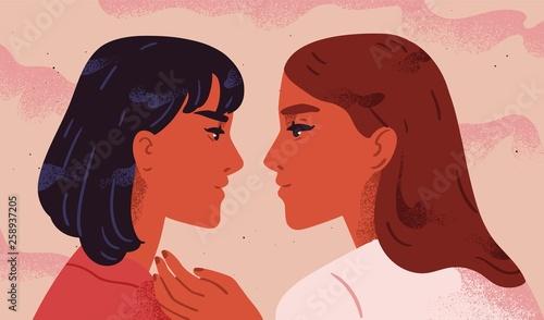 Fotomural Lesbian couple