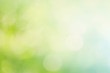 Abstract spring or summer bokeh background