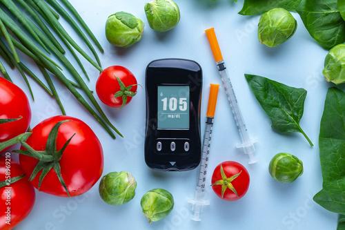 Fotografía Diabetes concept