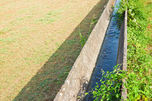 Italia Irrigation Channel With...