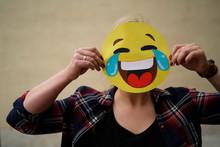 Tränen Lachender Smily / Emoji