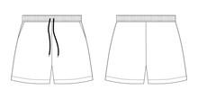 Technical Sketch Sport Shorts ...