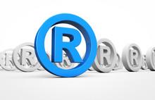 Business Registered Trademark Sign
