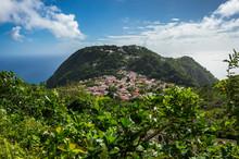 Caribbean, Netherland Antilles, Saba, Windwardside