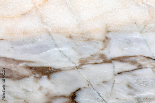 Autocollant pour porte Marbre Close up of light brown marble texture. High resolution photo.