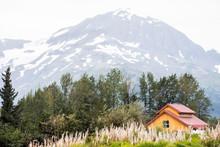 Scenic Glaciers On The Mountai...