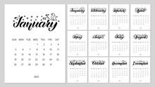 Vector Calendar Planner For 20...