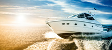Luxurious Motor Boat Sailing T...