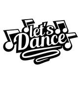 Lets Dance Cool Musiknoten Fei...