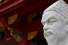 72 Followers Statues Of Confucius Temple, The Worlds Only Confucian Temple Built Outside China By Chinese Hands.
