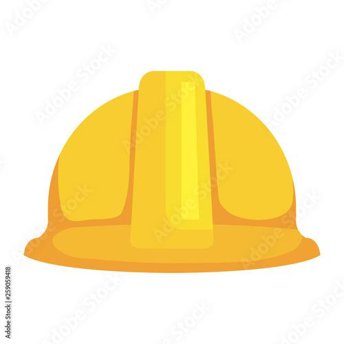 Fotografia  construction helmet protection icon