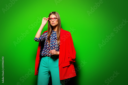colorful fashion clothes