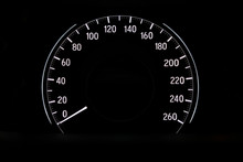 Speedometer Dial Of Vehicle Car Top Speed Limit