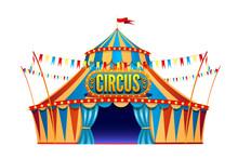 Classic Red Yellow Travel Circ...