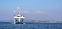 Italian Ferry Off The Coast Of...