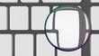 Bunte Muster, Marmorierung mit Leerraum für Inhalt