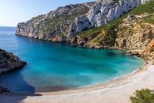 Granadella Cove Beach In Javea, Spain