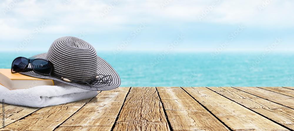 Fototapeta Terrasse am Meer