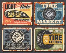 Car Parts Shop, Auto Service C...