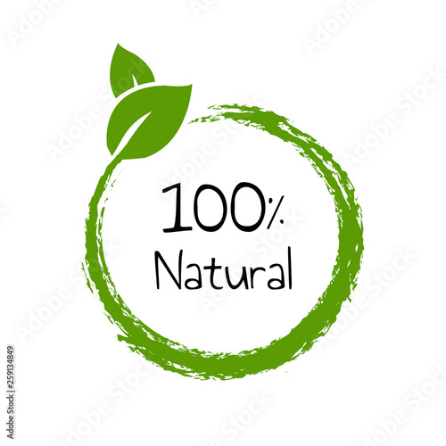 Fotografía  Natural Product Text Isolated