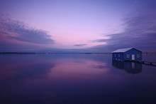Perth Boatshed In Pink