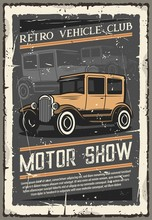 Retro Vehicle Club, Vintage Motor Museum Show