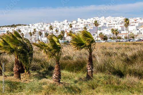 Fotografía  Conil de la Frontera, Spain, one of the White Villages (Pueblos Blancos) of the