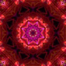 Abstract Kaleidoscope Design Background